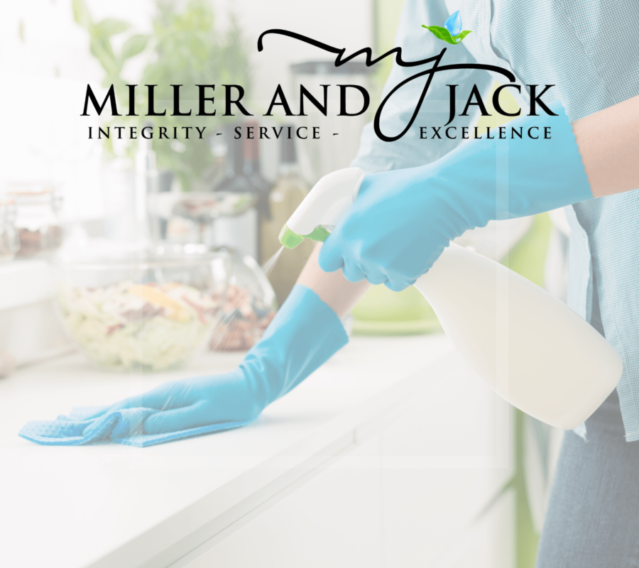 Miller and Jack | Sanitizers and Disinfectants