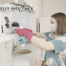 Time Saving Bathroom Cleaning Tips by Miller and Jack Sanitizers and Disinfectants
